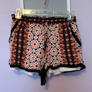 Multi color soft shorts